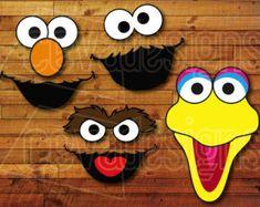 Sesame street birthday party characters elmo por caspermicks