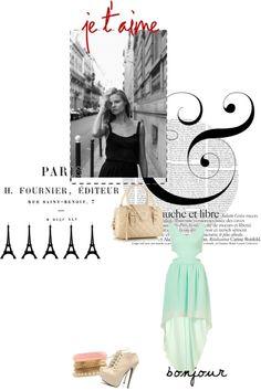 """""""Paris Pretty"""" by mickey-sugar on Polyvore"""