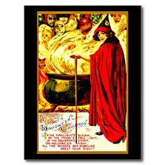 Postcard-Holiday Art-Vintage Halloween 45