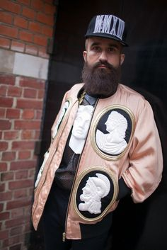 London Men's Fashion Week street style [Photo by Kuba Dabrowski]