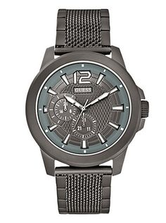 Masculine Active Sport Mesh Watch | GUESS.com