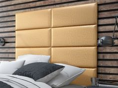 Stylish pearl gold headboard panels to match your unique tastes and budget. #vantpanels