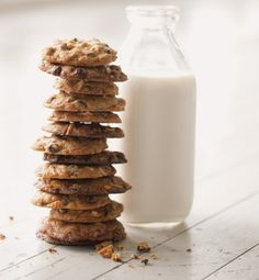 Chocolate Chip Cookies with Almonds and Orange Zest
