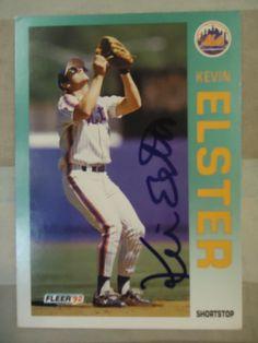 1992 Fleer #502 Kevin Elster (TTM)