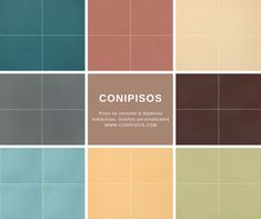 Baldosas hidraulicas #colores #pisos de cemento #Conipisos #azulejos #tiles #concrete #interiordesing Interior Desing, Interior Exterior, Tile Floor, Flooring, Texture, Crafts, Brick, Tiles, Tiles