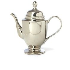 Miss Etoile Large Silver Tea Pot.