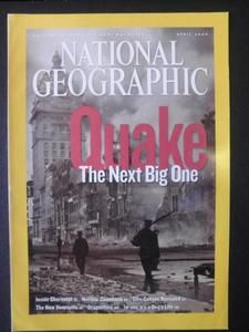 National Geographic Magazine Cover - April 2006
