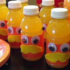 A Lorax themed birthday party complete with The Lorax drink.