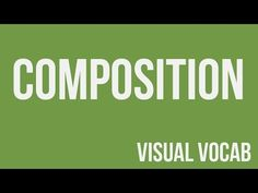 Composition defined - From Goodbye-Art Academy - YouTube