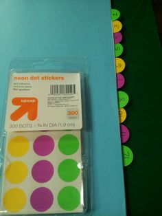 No need for dividers when you can use price tabs as divider tabs! Cool #DIY tabs for students binders. $1.99 pack-- Target