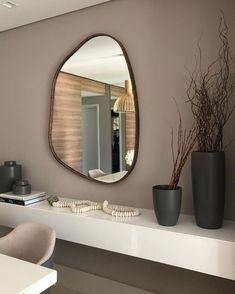 Home Room Design, Dream Home Design, Home Interior Design, House Design, Living Room Decor, Bedroom Decor, Beige Living Rooms, Decorating Bedrooms, Bedroom Inspo