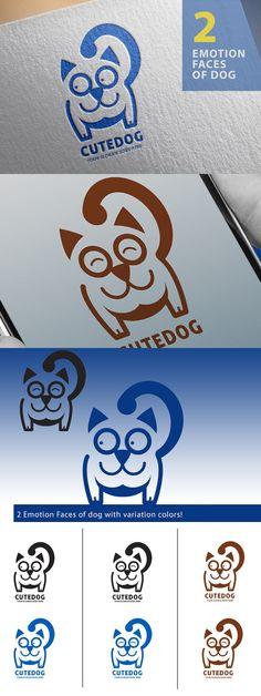 Dog Logo, Happy Dog