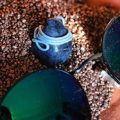 Steinanhänger <3  selbstgemacht und zum Verkauf aus fimo oder leder <3