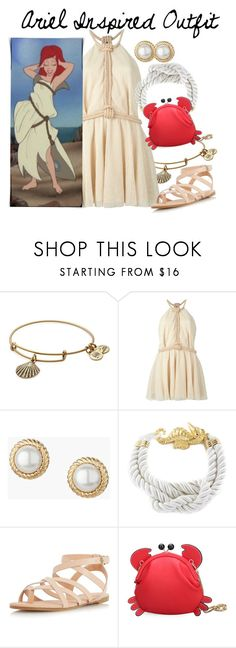 """Ariel"" by poppunk-serious-princess ❤ liked on Polyvore featuring Alex and Ani, Jay Ahr, Talbots, West Coast Jewelry, Dorothy Perkins, disney, disneybound and disneycharacter"