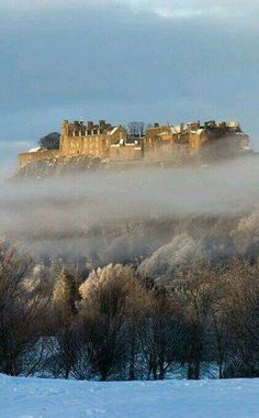 Stirling Castle, Scottish highlands. It's very beautiful inside as well.