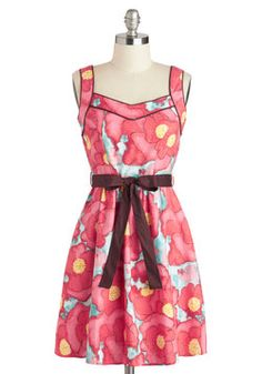 Daydreams and Doodles Dress, #ModCloth