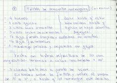 FRITTATA DE AMARETTO MERENGADA   #DULCE #POSTRES #BUDIN #AMARETTO