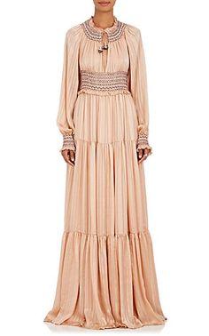 81e89e5c04 Athena Silk Maxi Dress Striped Maxi Dresses