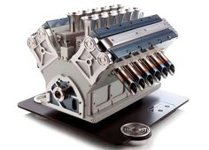 I have never wanted coffee so badly! - V12 espresso machine by espresso veloce references grand prix engines