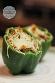 living in the (mom)ent: Stuffed Bell Peppers