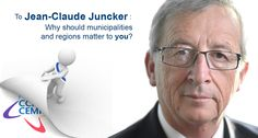 Jean Claude Juncker, why should municipalities and regions matter to you? bit.ly/1f9Re7x