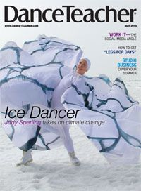 Our May issue featuring cover-star Jody Sperling is here! Check it out!   Photo by Pierre Coupel, courtesy of Time Lapse Dance