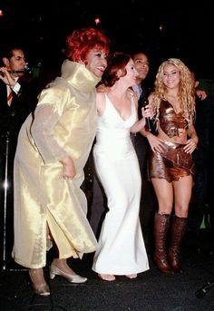 Celia Cruz, Gloria Estefan y @Shakira.