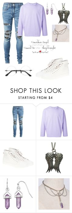 """Raphael"" by asgardiannova ❤ liked on Polyvore featuring AMIRI, H Beauty&Youth, adidas, WALL, men's fashion and menswear"