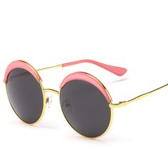 Find More Sunglasses Information about Big 5248 star sunglasses personality round frame SUN glasses trends in Europe and America women and men all match general,High Quality Sunglasses from NBG AIH on Aliexpress.com