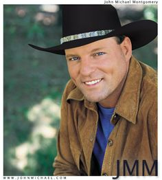 John Michael Montgomery - one of the sexiest men I've ever seen...opened for Reba back in the 90's