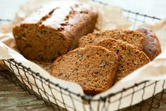 Zucchini Bread- I love this and pumpkin bread probably a little too much