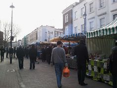 Tired of London, Tired of Life: Have lunch at Tachbrook Street Market