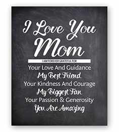Mom I can't thank you enough for all that you mean to me, you are my best #friend! This heartfelt #gift celebrates the emotional connection with your mom, show h...