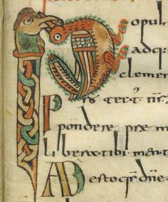 Sacramentarium gelasianum [Sacramentaire gélasien, dit de Gellone (Saint-Guilhem-le-Désert)]. Date d'édition : 780-800 Type : manuscrit Langue : Latin- SACRAMENTAIRE DE GELLONE, INTRODUCTION: Le Sacramentaire de gellone est un manuscrit enluminé de la fin du 8°s (Paris, BNF Latin 12018). Sa présence est attestée à l'abbaye de ST GUILHEM LE DESERT au début du 9°s. Il est directement influencé par l'enluminure mérovingienne.