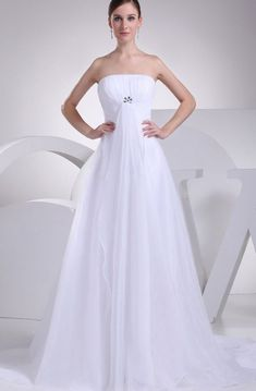 Intricate Strapless Tulle A-Line Dress With Ruching and Broach Flattering Wedding Dress, Wedding Invitation Envelopes, Bridal Gowns, Wedding Dresses, Wedding Thank You Cards, One Shoulder Wedding Dress, Tulle, Satin, Collection