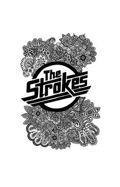 The Strokes Zentangle Logo