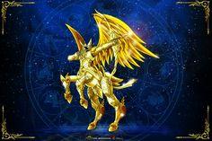 Sagitario Kamui Divina Saint Seiya Soul of Gold
