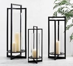 Buy Pottery Barn Brooks Cross Bar Lanterns Online from Pottery Barn Kuwait in Kuwait City. Experience online shopping with a wide range of Lanterns and Enjoy ✓ Free Delivery on orders over KWD 99 ✓ Easy returns ✓ Click & Collect Kuwait Brass Lantern, Metal Lanterns, Outdoor Candle Lanterns, Pottery Barn Lanterns, Floor Lanterns, Front Door Accessories, Small Lanterns, Decorative Lanterns, Decorative Objects