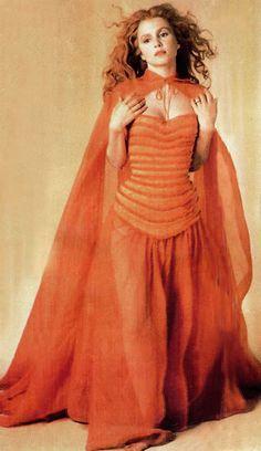 Eiko Ishioka's designs for Bram Stoker's Dracula. Lucy Westenra's sleepwalking ensemble.