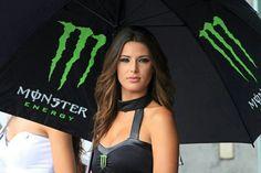 MotoGP Padock Girl Monster Energy