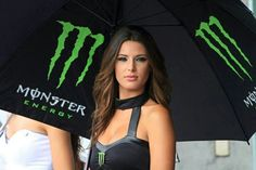 MotoGP Padock Girl Monster Energy
