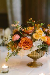 Whimsical + Elegant Autumn Wedding | Photos - Style Me Pretty