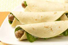 Simple Turkey Sausage Breakfast Rollers | turkey | sausage | simple | breakfast | #BiggestLoser http://www.jennieo.com/recipes/649-Simple-Turkey-Sausage-Breakfast-Rollers