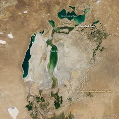 New Water in the Aral Sea