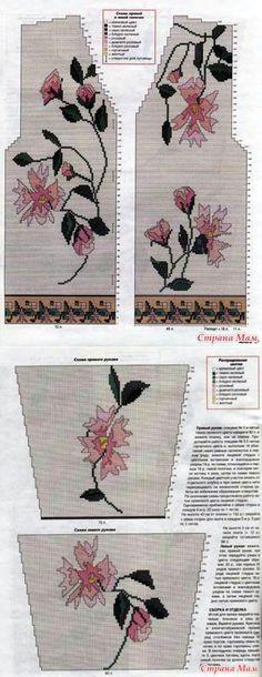 Жаккардовые модели (часть3) - Вязание - Страна Мам | вязание(жаккард,вышивка) | Постила