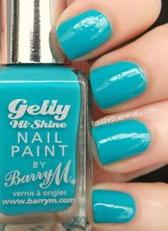Polished Criminails: Swatch: BarryM Summer Gellys WAAAANT