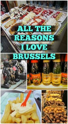 All the Reasons I Love Brussels. Most people look at me with surprise when I admit this, wondering out loud how I could possibly choose a city like Brussels over the likes of Paris or Amsterdam. Don't get me wrong, I have good memories from those cities too, but Brussels has that perfect mix of ingredients that keeps it near to my heart.  Click to read more at http://www.divergenttravelers.com/reasons-i-love-brussels/