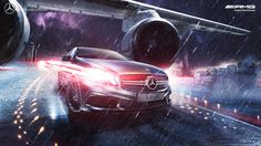 Benz AMG on Behance