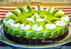 Mi ultima receta en You Tube: ¡¡Bavarois de kiwi sobre base de brownie de chocolate!!. . Bavarois de kiwi sobre brownie de chocolate, una tarta deliciosa y diferente con un aspecto muy apetecible y un sabor lleno de contrastes que resulta una delicia  .  --------------------- El video en You Tube: https://www.youtube.com/watch?v=FRa0gE0TE9Y  --------------------- También en mi Blog: http://lacocinadelolidominguez.blogspot.com.es/2014/07/bavarois-de-kiwi-sobre-base-de-brownie.html