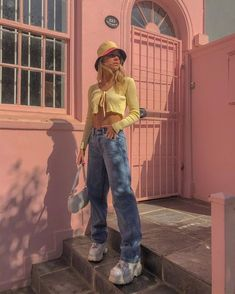 Fashion Tips Outfits .Fashion Tips Outfits Retro Outfits, Vintage Outfits, Indie Outfits, Cute Casual Outfits, Fashion Outfits, Fasion, Yellow Outfits, Indie Clothes, Grunge Outfits